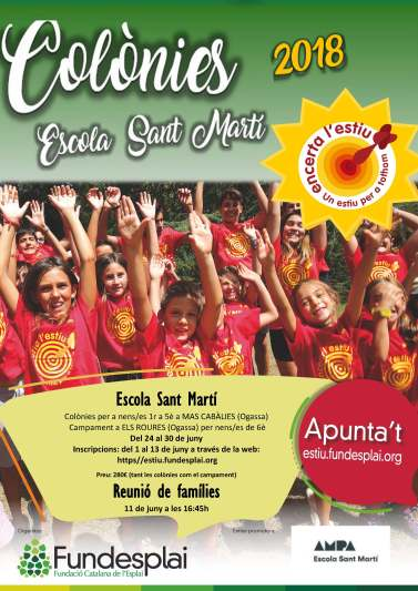 Cartell_Colònies Sant Martí