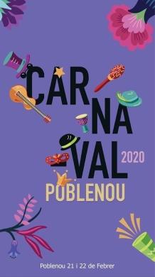 Cartell Carnestoltes 2020 al Poblenou